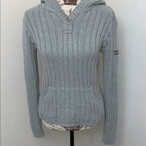 DKNY Sweater Hoodie- Large